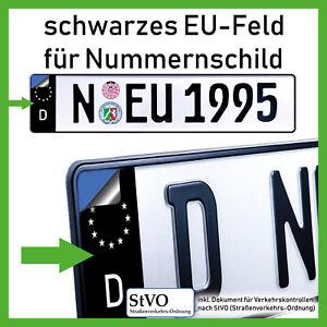 2x-EU-Feld-fuer-Kennzeichen-Aufkleber-Nummernschild-schwarz-gelb-pink-rot-gruen