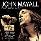 Chicago Line: Radio Broadcast, 1991 by John Mayall (CD, Sep-2015, Laser Media)