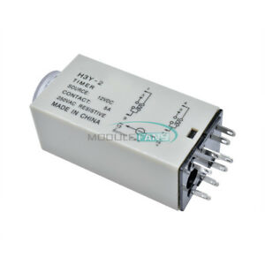 DC-12V-H3Y-2-0-30-Minutes-Power-on-Timer-Time-Delay-Relay-8-Pin-TH283-MF