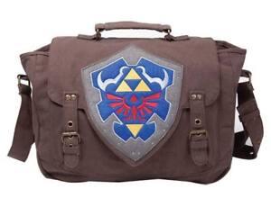 Legend-of-Zelda-Umhaengetasche-Hylia-Schild-NEU-amp-OVP