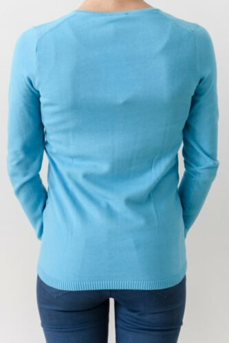 Col Turquoise 36 Tg Pull Femme Lacoste Bwyq4IczvH