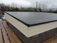 Firestone Epdm Flat Roof Kits -complete Roof Kit With Trims Choose Your Own Size