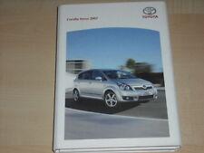 57634) Toyota Corrola Verso Pressemappe 06/2007