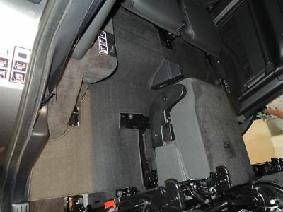 Stardiamond All Weather Floor Mats 2010-2014 Discovery 4 LR4 Black 3rd Row
