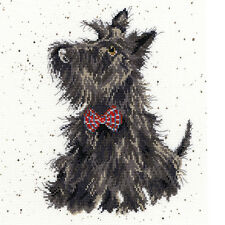 BOTHY THREADS WRENDALE DESIGNS SCOTTIE DOG COUNTED CROSS STITCH KIT - NEW XHD13