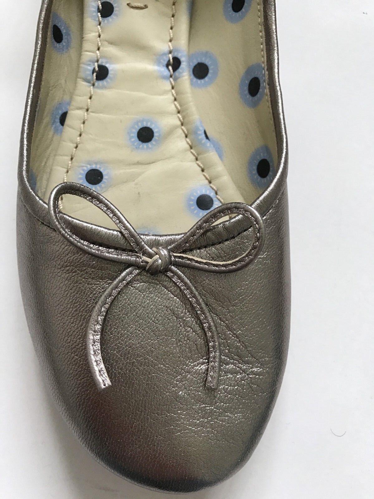 Paul Smith Silber zum Schnüren Damen flach Schuh Größe UK4 EU 37