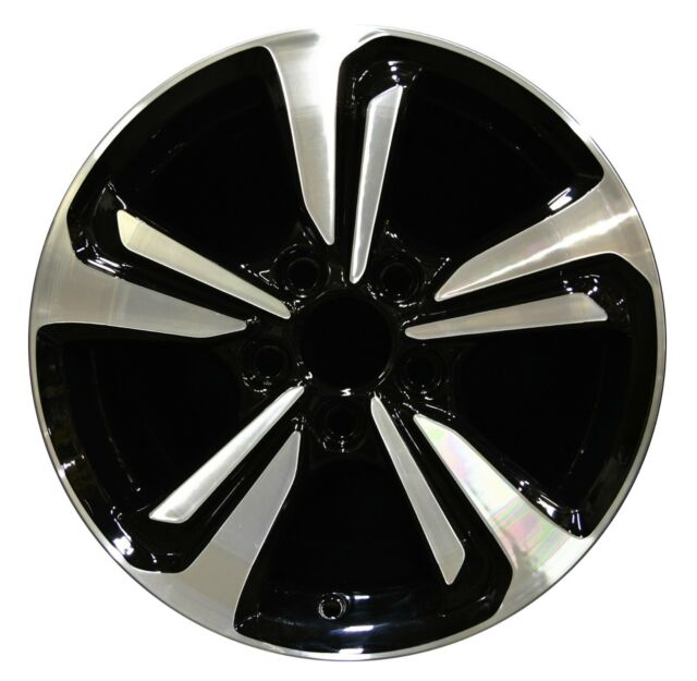 16 Honda Civic 2017 Factory Oem Rim Wheel 64062 Black Machined