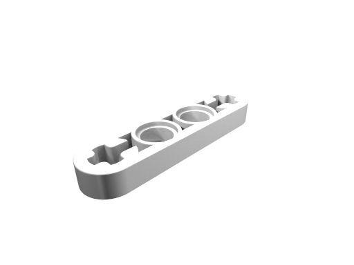 Liftarm 1 x 6 weiß   flach dünn 32063  NEU LEGO Technic Technik 2 Stk