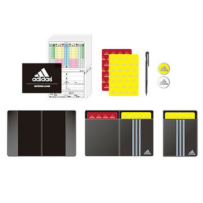 Adidas JAPAN Football Referee Set Cards Coin Booklet Yellow Red Judge Card Z1187
