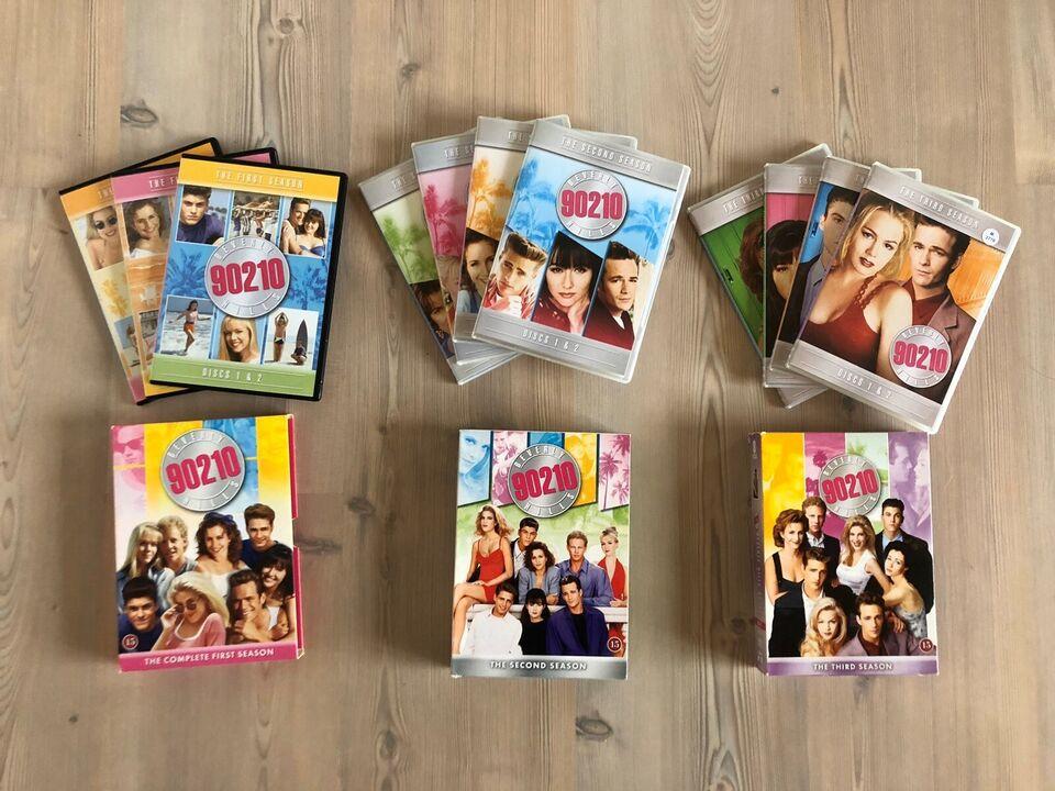 Beverly Hills 90210 - Sæson 1, 2 og 3, DVD