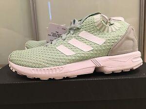 Details about Adidas Originals ZX Flux PK W Shoes Women's Sneaker Trainers Green UK 3.5 S81899