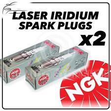 2x NGK SPARK PLUGS Part Number IFR9H11 Stock No. 6588 Laser Iridium New Genuine
