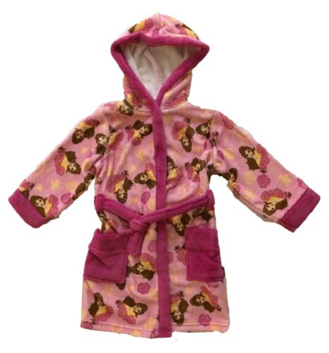 Disney Princess Belle Dressing Gown Bath Robe Ages 2 to 8 Years