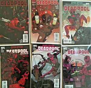 Belle Deadpool Vol. 3 (2008 Marvel Comics) Lot #2-14 By Daniel Way & Paco Medina