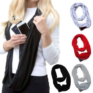 94e5e31d66aae Image is loading Stretchy-Infinity-Loop-Scarf-With-Secret-Hidden-Zipper-
