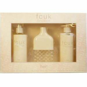 279fd52a729 Fcuk Friction Gift Set Her 100ml 3 Piece French Connection Fragrance ...