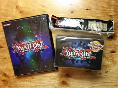 Konami Doppel Deckbox NEU /& OVP Yu-Gi-Oh Sammelalbum Duelist Portfolio