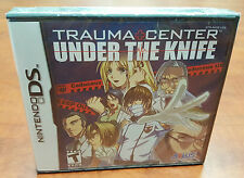 Trauma Center: Under the Knife (Nintendo DS 3DS DSI) Brand New Factory Sealed