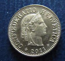 """Münze 5 Rappen Schweizer Franken 2011 """"B"""" aus Umlauf gültiges Zahlungsmittel"""