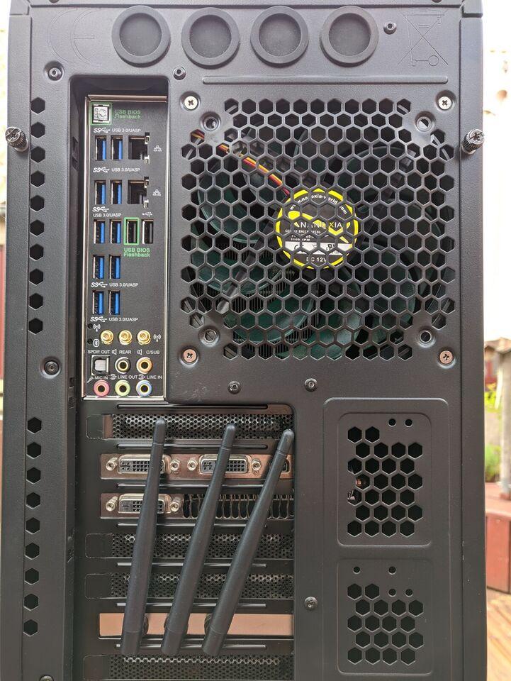 Asus, X99 deluxe, 3.6 Ghz