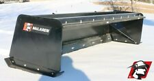 Skid Steer Snow Pusher Box Attachment High Quality Mclaren Metal For Caterpillar