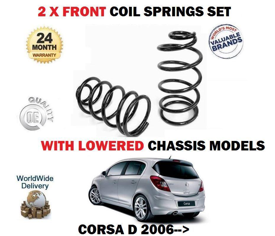 Für Opel Vauxhall Corsa D  1,0 -1, 2 1.4 Gesenkt 2006-   2 X  factory outlet store