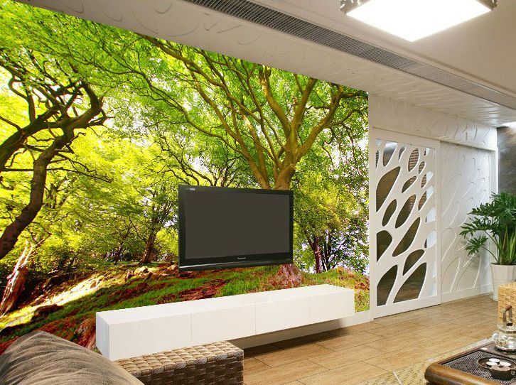 Hillside Branch 3D 705 Wall Paper Print Wall Decal Wall Deco Indoor Wall Murals