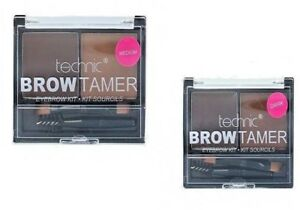 Technic-Brow-Tamer-Brow-Shaping-Kit-Powder-Wax-amp-Brush-Eyebrow-Make-Up-Set