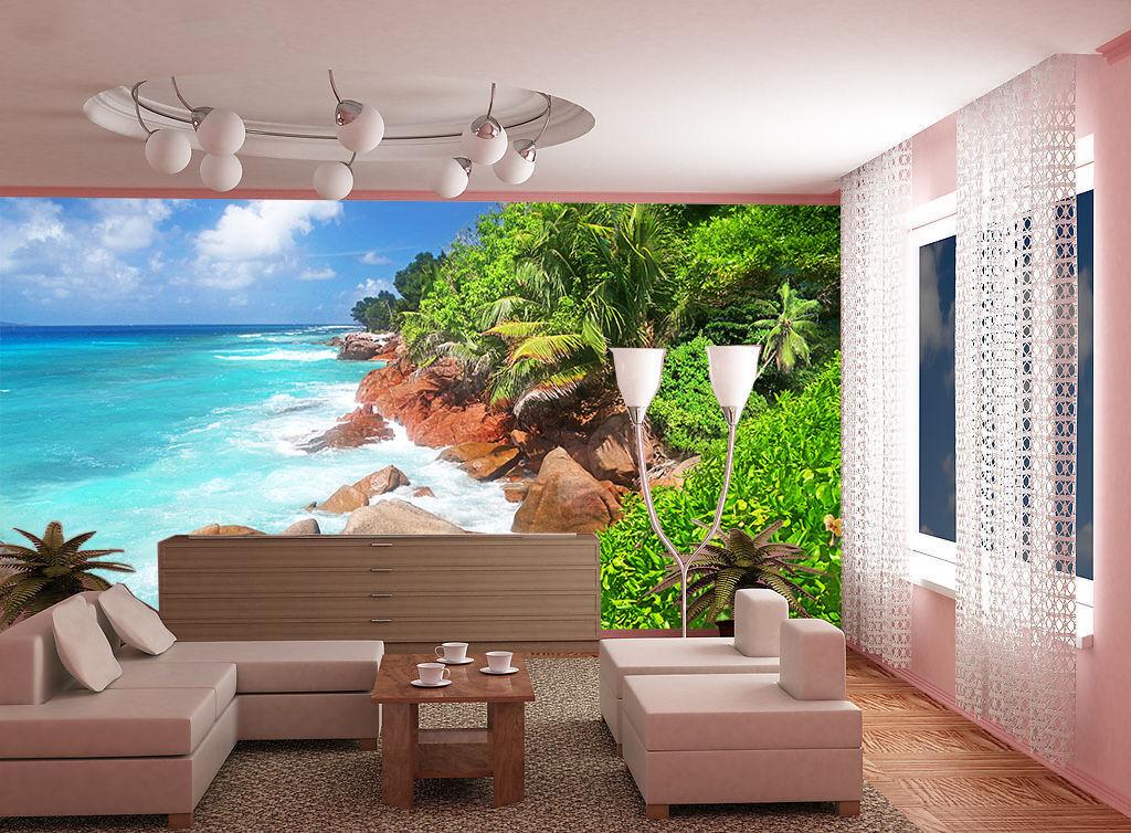 3D Die Natur meisterwerk 531 Fototapeten Wandbild Fototapete BildTapete Familie