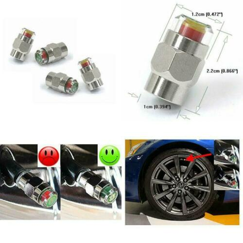 New Car Tire Valve Stem Caps Pressure Monitor Increased Tire Life Safety 50 Psi