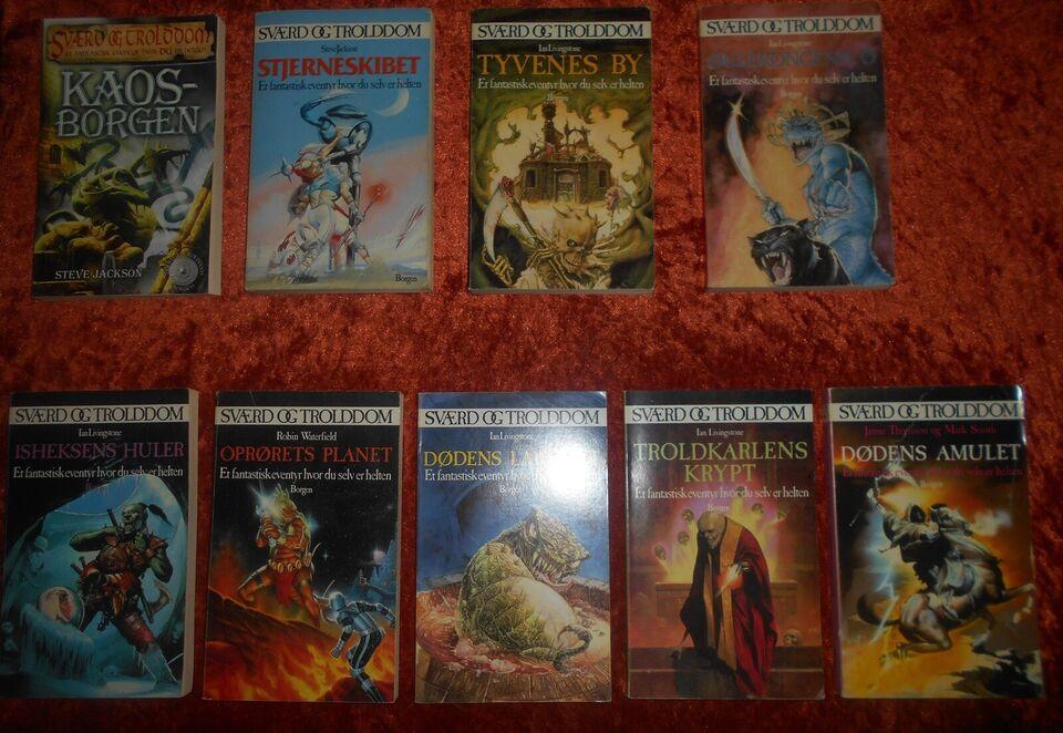 Sværd og trolddom, Steve Jackson m.fl., genre: fantasy
