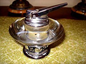 Excellent Details About Vintage Ronson Table Cigarette Lighter Nordic Model Circa 1955 Interior Design Ideas Gentotryabchikinfo