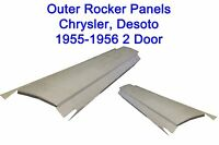 1955 1956 Chrysler Desoto Rocker Panels 2door Pair Free Shipping
