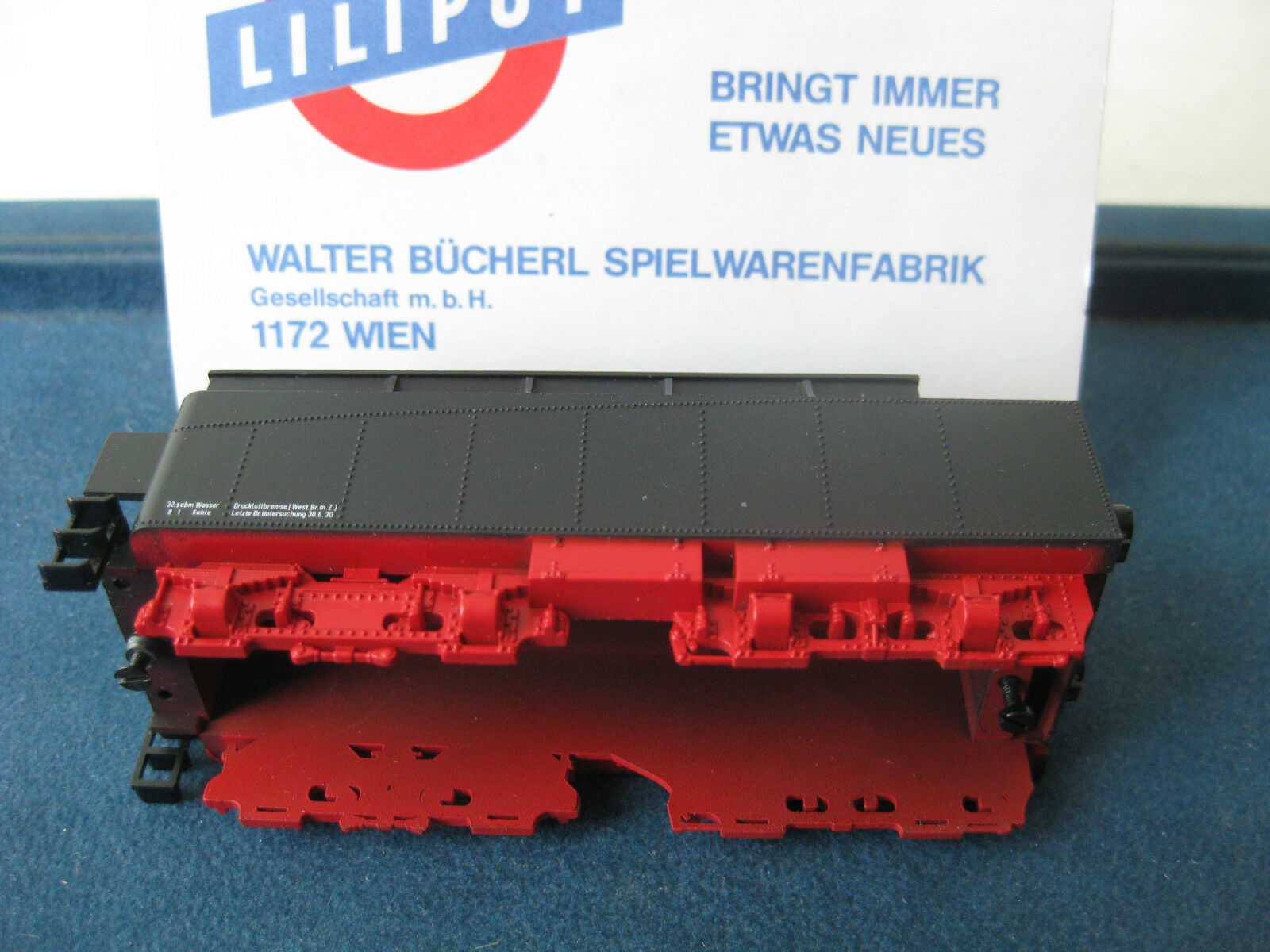 Liliput Tender Chassis BR 18 447 Epoch II s3 6 NEW