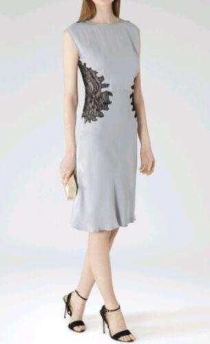 Designer Lace Reiss used Tea Dress Silk Size Length Detail 8 Knee Once Danza SF1rwS
