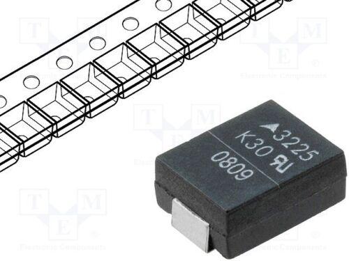 3 pcs Varistor metal-oxide SMD 3225 300VAC 385VDC 9.6J 400A 100W