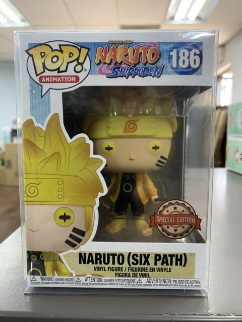 Funko POP! Naruto NARUTO SIX PATH Figure Special Edition MINT #186 w/ Protector