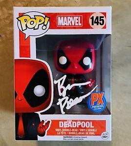 Brian Posehn Signed Autographed Marvel Deadpool Funko Pop