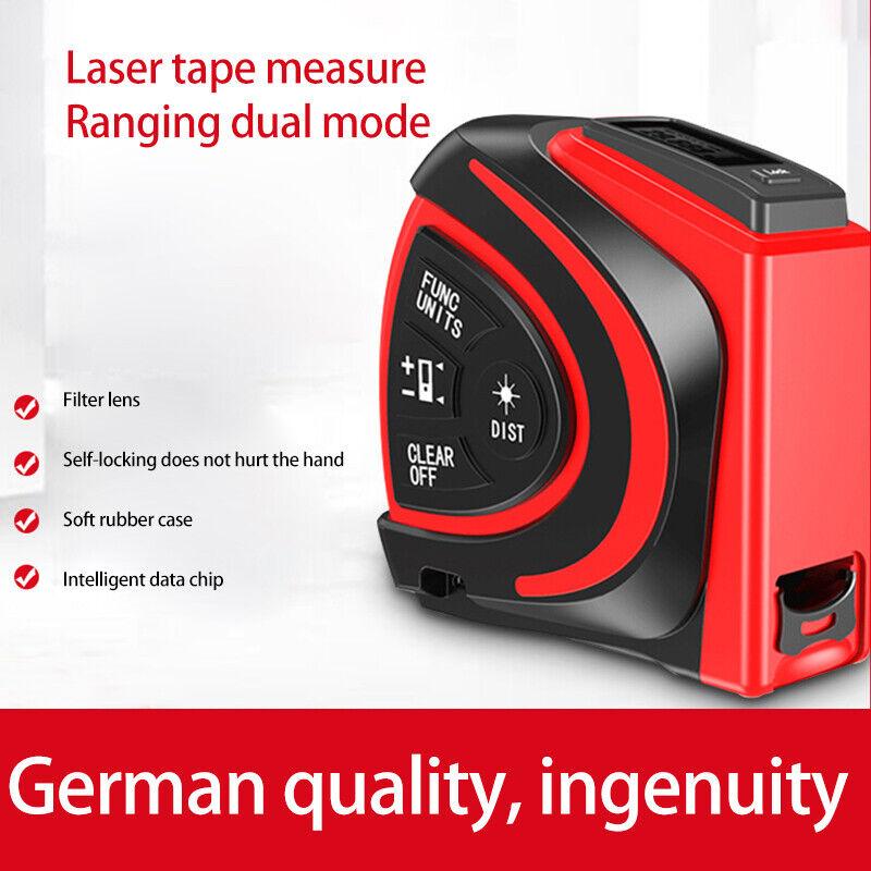 Electronic ruler laser ruler high precision laser measuring tool tape measure
