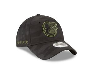6655f478 Baltimore Orioles New Era 2018 Memorial Day 9Twenty Adjustable Hat ...