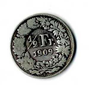 Moneda-Suiza-1909-B-1-2-medio-franco-suizos-plata-835-silver-coin-Helvetia