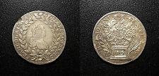 Autriche - Joseph II - 10 Kreuzer 1765B EVM D - KM#2063