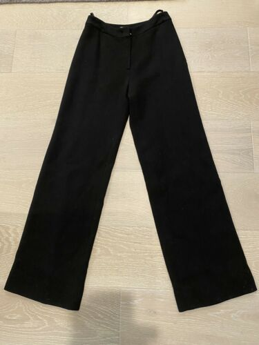 Chanel Wool Crepe Lined Pants