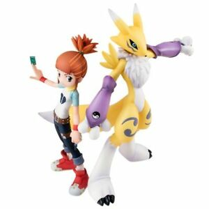 Digimon Tamers Anime Renamon and Rika PVC Action Figure Statue Collectible Toy