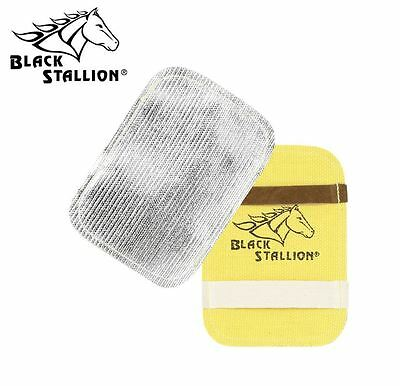 Genuine Revco Black Stallion BP Aluminized Coated Fiberglass Glove Backpad
