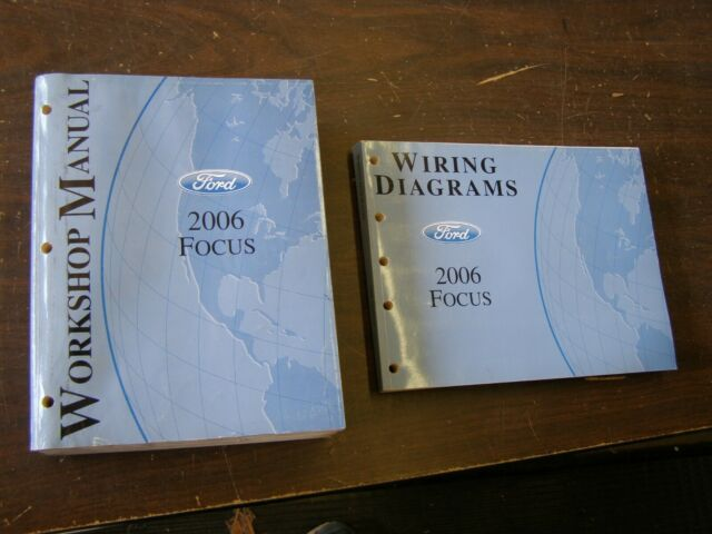 Oem Ford 2006 Focus Shop Manuals Books   Wiring Diagram