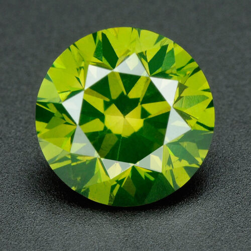 CERTIFIED Round Fancy Green Color SI 100/% Loose Natural Diamond Wholesale Lot A