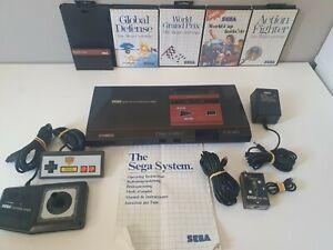 Original-Sega-Master-System-1-Powerbase-with-Controllers-Wonder-Boy-amp-Games