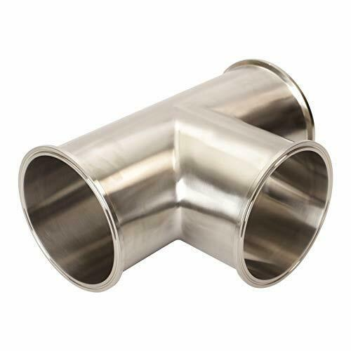 Stainless Steel SS304 Long TeeTri Clamp 6 inch