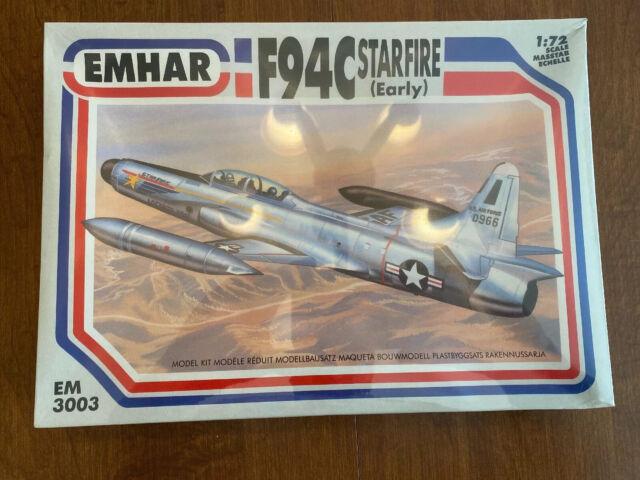 Neu Emhar EM3004-1//72 F94C Starfire Late